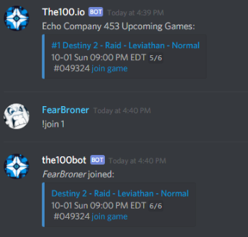 State of Decay 2 Discord Bot Join